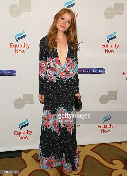 Genevieve Angelson attends Equality Now's 3rd annual 'Make Equality Reality' gala on December 05 2016 in Beverly Hills California