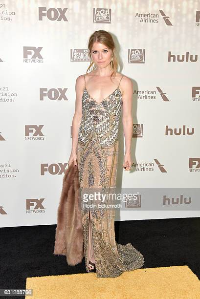 Genevieve Angelson attends FOX and FX's 2017 Golden Globe Awards after party at The Beverly Hilton Hotel on January 8 2017 in Beverly Hills California