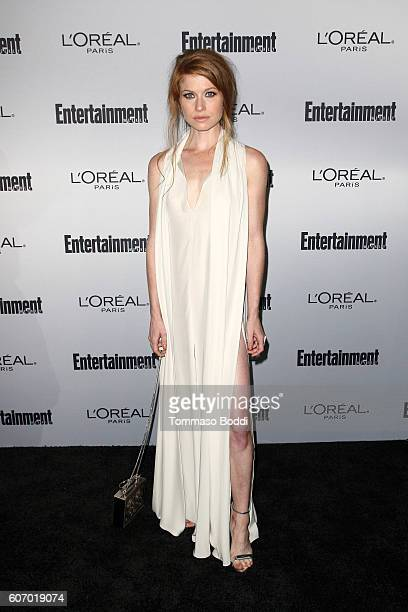 Genevieve Angelson attends the Entertainment Weekly's 2016 PreEmmy Party held at Nightingale Plaza on September 16 2016 in Los Angeles California