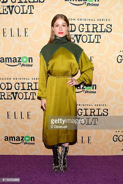Genevieve Angelson attends the Good Girls Revolt New York screening at the Joseph Urban Theater at Hearst Tower on October 18 2016 in New York City