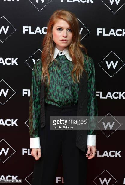 Genevieve Angelson attends the Premiere of UKTV's new series Flack at Ham Yard Hotel on November 13 2018 in London England