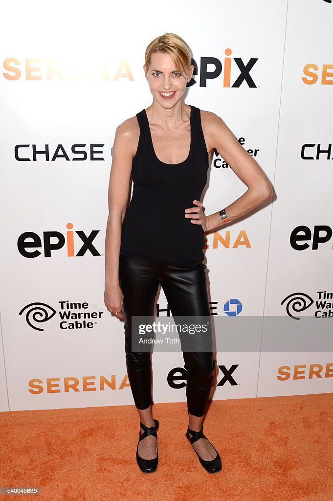 Genevieve Bahrenburg attends the premiere of EPIX original documentary 'Serena' at SVA Theater on June 13, 2016 in New York City.