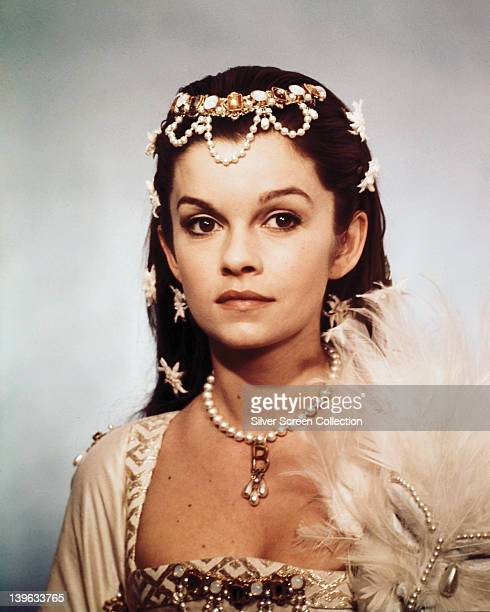 Genevieve Bujold Canadian actress in costume in a studio portrait issued as publicity for the film 'Anne of the Thousand Days' 1969 The historical...