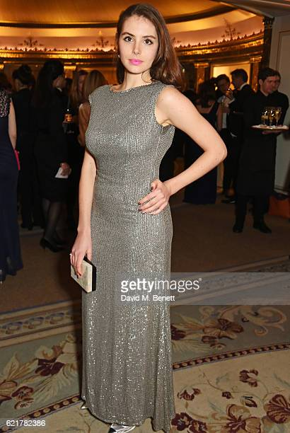 Genevieve Gaunt attends The Cartier Racing Awards 2016 at The Dorchester on November 8 2016 in London England