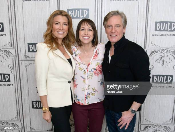 Genevieve Gorder Paige Davis and Doug Wilson visit Build Series to discuss Trading Spaces at Build Studio on April 5 2018 in New York City