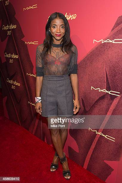 Genevieve Jones attends Indochine's 30th Anniversary Party at Indochine on November 7, 2014 in New York City.