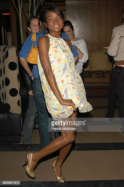 Genevieve Jones attends JORDANA BREWSTER's Blame it on Rio Birthday Party hosted by CABANA CACHACA at Bungalow 8 on April 20 2006 in New York City