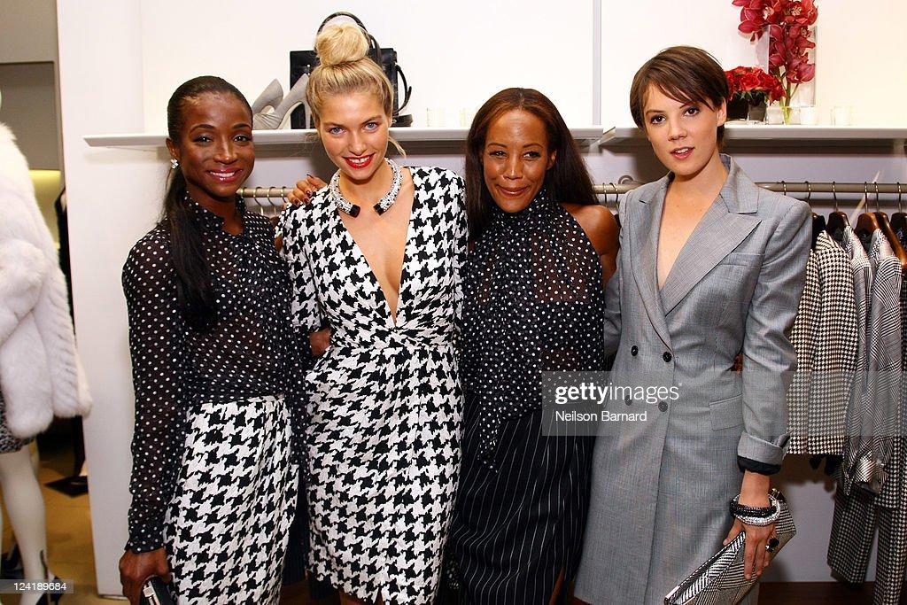 Ferragamo's Black And White Fete To Celebrate Fashions Night Out, Benefiting Lincoln Center Institute