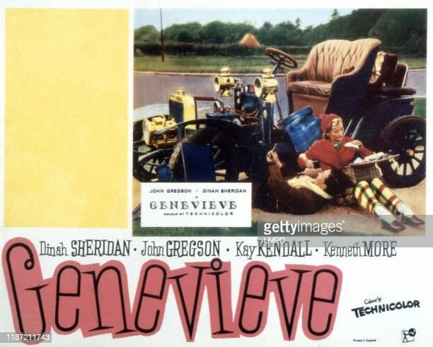 Genevieve, lobbycard, John Gregson, Dinah Sheridan, 1953.