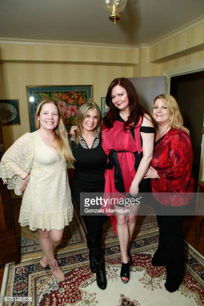 Genevieve Malandra Ashley Papa Dee Dee Sorvino and Lora Condon attend the Paul Dee Dee Sorvino celebrate their new book Pinot Pasta Parties at 200...