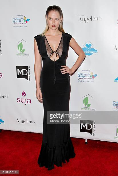 Genevieve Morton attends The Dream Builders Project 3rd Annual 'A Brighter Future For Children' Charity Gala at Taglyan Cultural Complex on March 3...