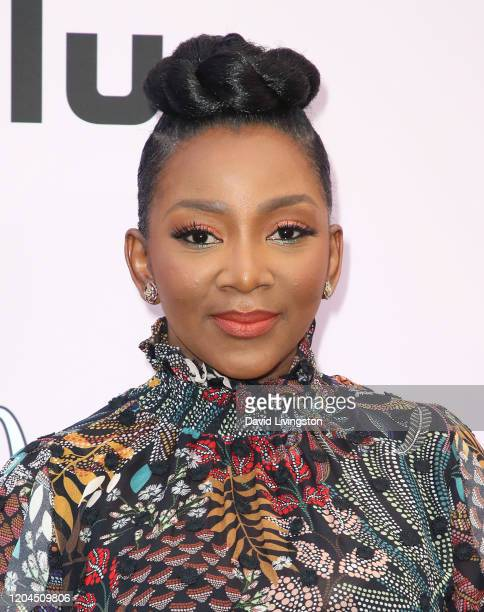 Genevieve Nnaji attends the 13th Annual Essence Black Women In Hollywood Awards Luncheon at the Beverly Wilshire Four Seasons Hotel on February 06...