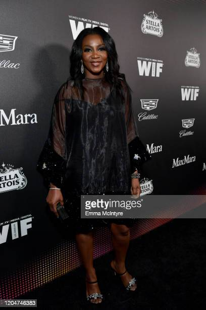 Genevieve Nnaji attends the 13th annual Women In Film Female Oscar Nominees Party presented by Max Mara Stella Artois Cadillac and Tequila Don Julio...