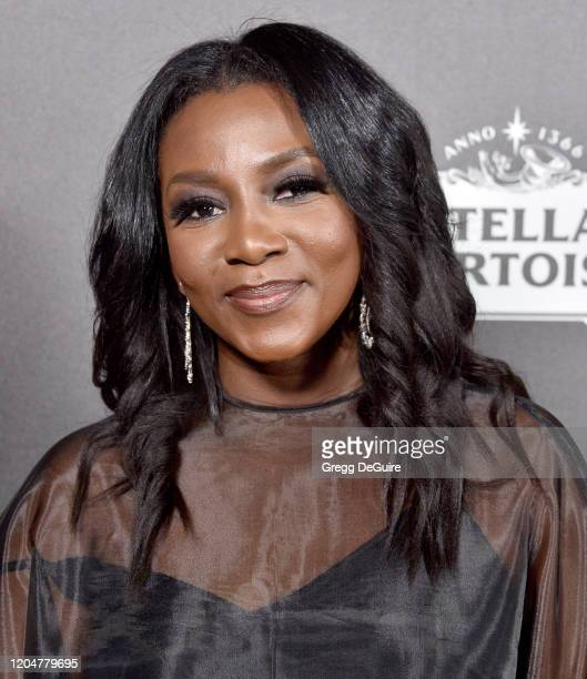 Genevieve Nnaji attends the 13th Annual Women In Film Female Oscar Nominees Party at Sunset Room Hollywood on February 07 2020 in Hollywood California