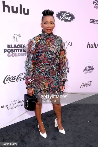 Genevieve Nnaji attends the 2020 13th Annual ESSENCE Black Women in Hollywood Luncheon at Beverly Wilshire A Four Seasons Hotel on February 06 2020...