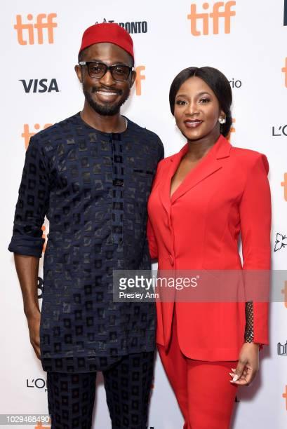 Genevieve Nnaji attends the Lionheart premiere during 2018 Toronto International Film Festival at TIFF Bell Lightbox on September 8 2018 in Toronto...