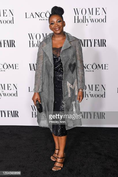 Genevieve Nnaji attends the Vanity Fair and Lancôme Women in Hollywood celebration at Soho House on February 06 2020 in West Hollywood California