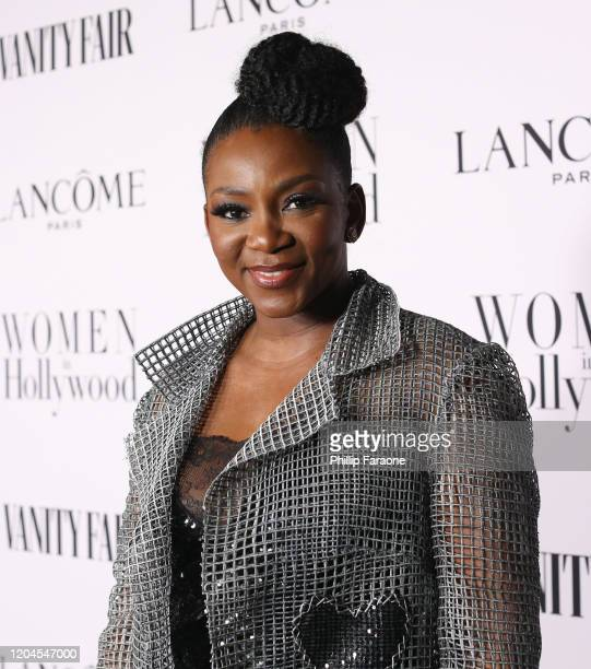 Genevieve Nnaji attends Vanity Fair and Lancôme Toast Women in Hollywood on February 06 2020 in Los Angeles California