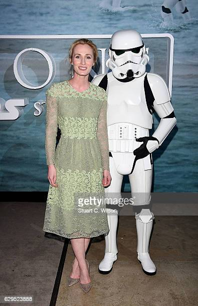 Genevieve O'Reilly attends the launch event and reception for Lucasfilm's highly anticipated firstever standalone Star Wars adventure Rogue One A...