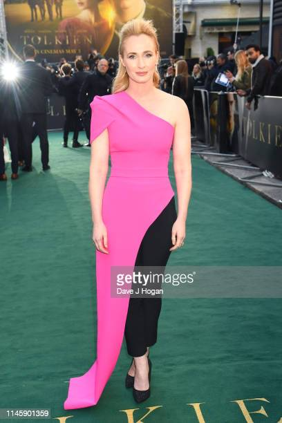 Genevieve O'Reilly attends the Tolkien UK premiere at The Curzon Mayfair on April 29 2019 in London England