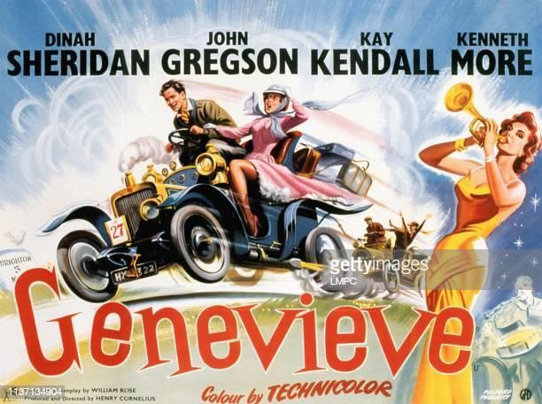 John Gregson Dinah Sheridan right playing trumpet Kay Kendall 1953