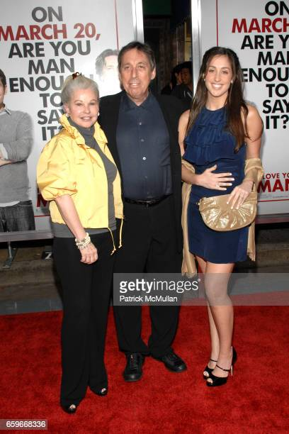 Genevieve Robert Ivan Reitman and Catherine Reitman attend I LOVE YOU MAN Premiere at Mann's Village Theater on March 17 2009 in Los Angeles...
