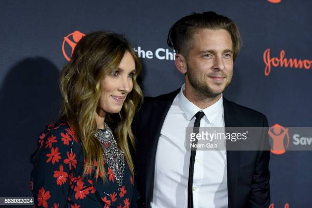 Genevieve Tedder and Grammywinning Songwriter and Producer attend the 5th Annual Save the Children Illumination Gala at the American Museum of...