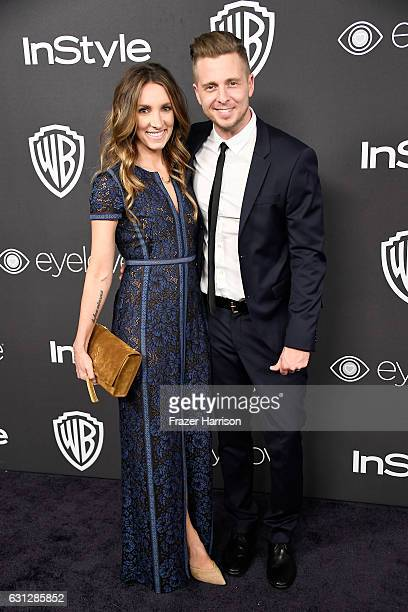 Genevieve Tedder and musician Ryan Tedder attend the 18th Annual PostGolden Globes Party hosted by Warner Bros Pictures and InStyle at The Beverly...