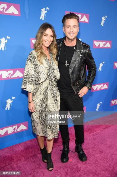 Genevieve Tedder and Ryan Tedder attend the 2018 MTV Video Music Awards at Radio City Music Hall on August 20 2018 in New York City