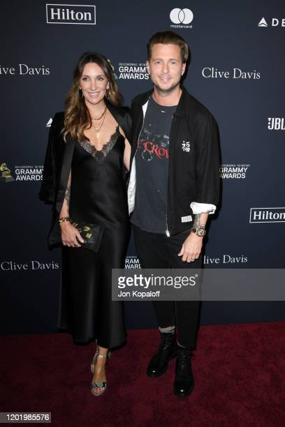 Genevieve Tedder and Ryan Tedder attend the PreGRAMMY Gala and GRAMMY Salute to Industry Icons Honoring Sean Diddy Combs on January 25 2020 in...