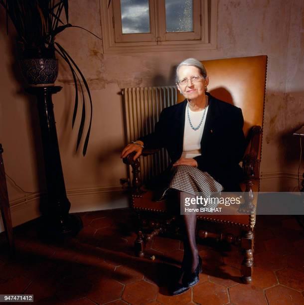 Geneviève Anthonioz De Gaulle présidente d'ADT Quart Monde