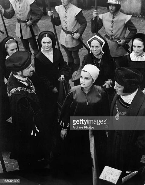 Geneviève Bujold walks to her death in a scene from the film 'Anne Of The Thousand Days' 1969
