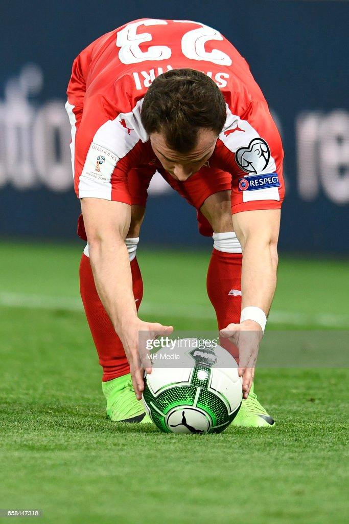 Genf Fussball Wm Quali Schweiz Lettland Xherdan