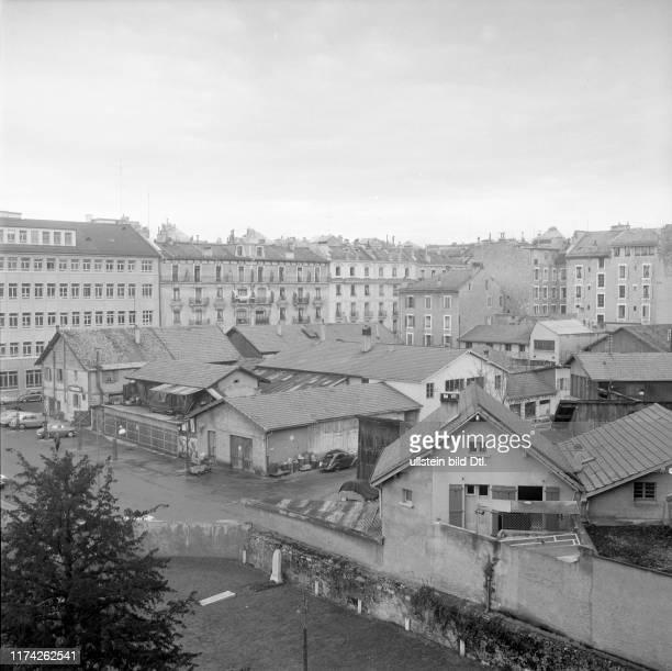 Stadtviertel Plainpalais 1959