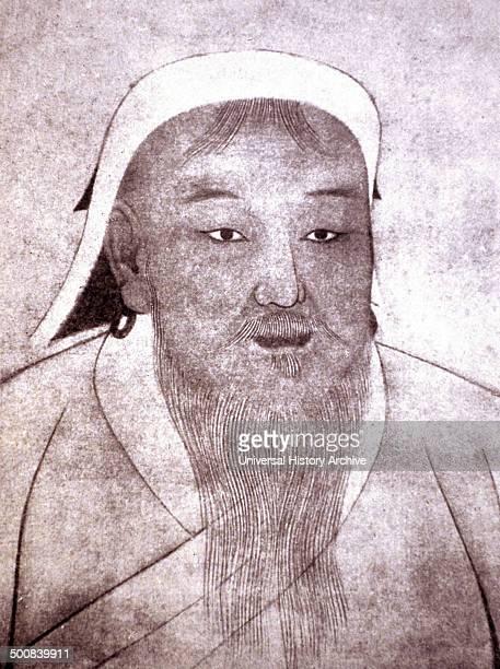 Genghis Khan 14th century portrait