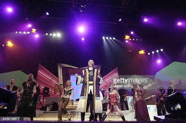Genghis Khan Band Pop music Germany performing in Hamburg Germany with singer Wolfgang Heichel