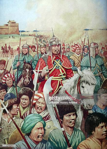 Genghis Khan born Temüjin was the founder and Great Khan of the Mongol Empire