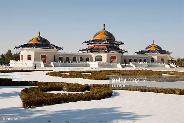 Genghis Khan Mausoleum in Inner Mongolia