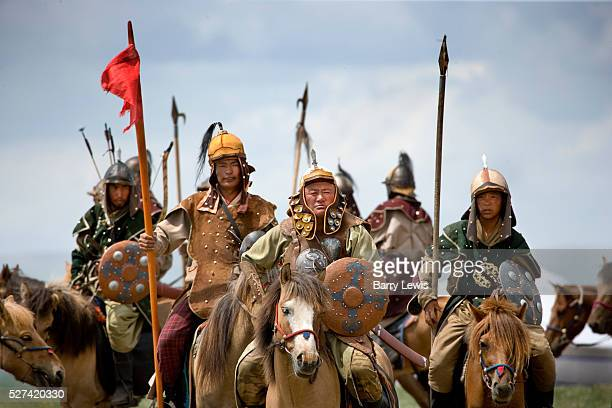 Genghis Khan's 800th anniversary Festival of Eurasia A reenactment of the unification of the Mongolian tribes under Genghis Khan using 500 cavalry...