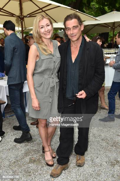 Genija Rykova and Martin Feifel attend the FFF reception during the Munich Film Festival 2017 at Praterinsel on June 29 2017 in Munich Germany
