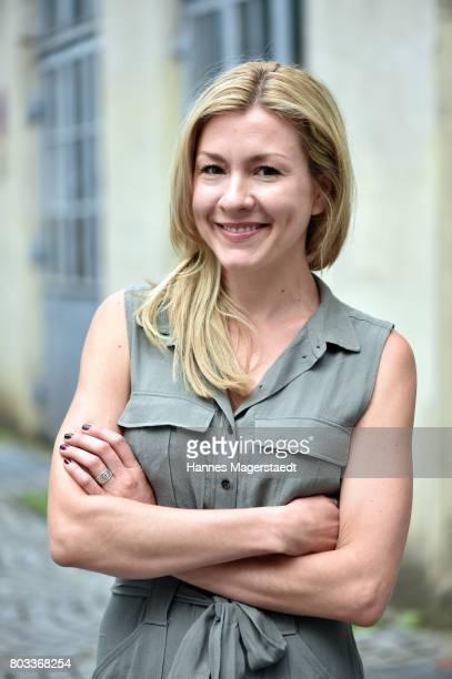 Genija Rykova attend the FFF reception during the Munich Film Festival 2017 at Praterinsel on June 29 2017 in Munich Germany