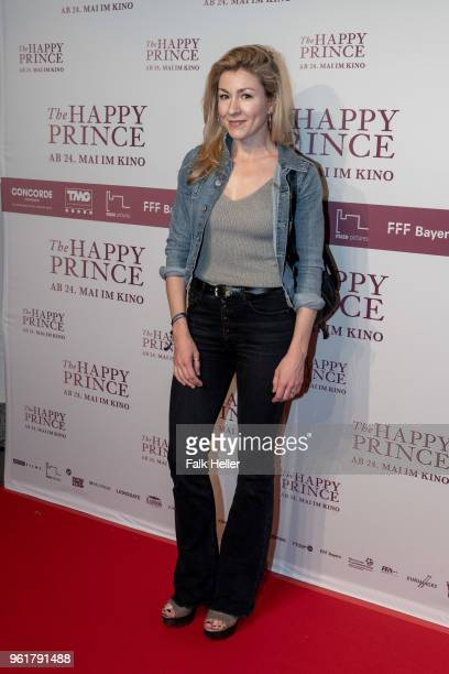 Genija Rykova attends the premiere of 'The Happy Prince' at Gloria Palast on May 23 2018 in Munich Germany