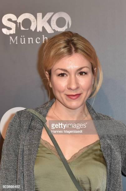 Genija Rykova during the 40th anniversary celebration of the ZDF TV series SOKO Munich at Seehaus on February 24 2018 in Munich Germany