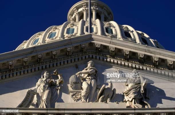 Genius of America Pediment Group by Luigi Persico