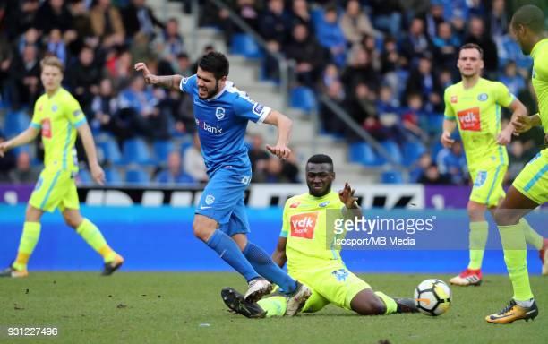 20180311 Genk Belgium / Krc Genk v Kaa Gent / 'nAlejandro POZUELO Anderson ESITI'nFootball Jupiler Pro League 2017 2018 Matchday 30 / 'nPicture by...