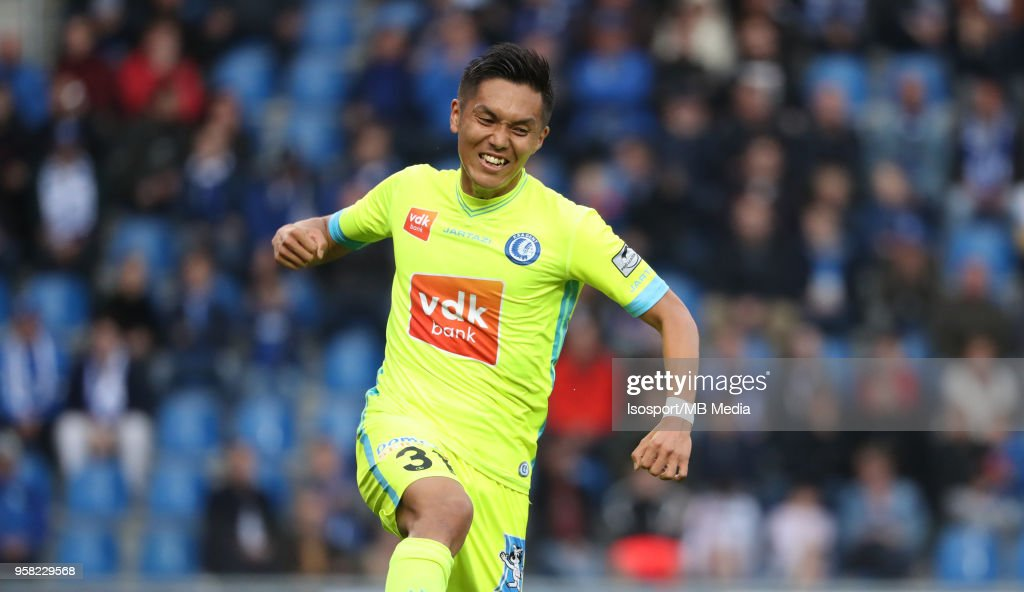 Krc Genk v Kaa Gent : News Photo