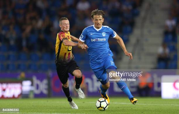 20170826 Genk Belgium / Krc Genk v Kv Mechelen / 'nRob SCHOOFS Jakub BRABEC'nFootball Jupiler Pro League 2017 2018 Matchday 5 / 'nPicture by Vincent...