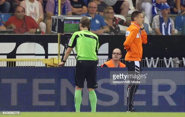 20170826 Genk Belgium / Krc Genk v Kv Mechelen / 'nWim SMET Video assistant referee VAR'nFootball Jupiler Pro League 2017 2018 Matchday 5 / 'nPicture...