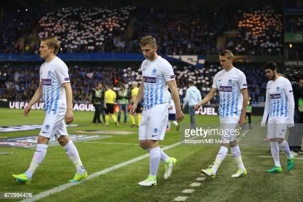 Krc Genk vs Rc Celta de Vigo / 'nJONNY Thomas BUFFEL'nFootball Uefa Europa League 2016 2017 QuarterFinal 2nd leg Luminus Arena /'n© Vincent Van...