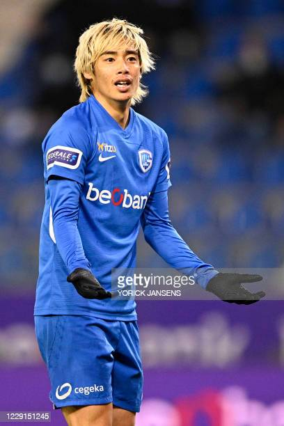Genk's Junya Ito pictured during the Jupiler Pro League match between KRC Genk and Sporting Charleroi, Sunday 18 October 2020 in Genk, on day 9 of...